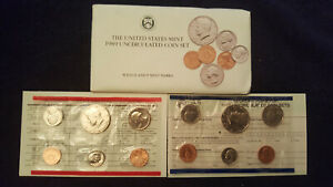 1989 P & D UNCIRCULATED US  MINT SET