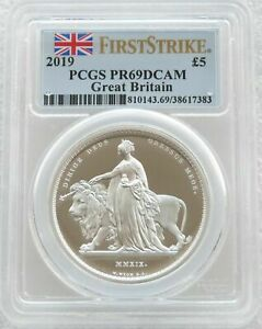 Click now to see the BUY IT NOW Price! 2019 UNA AND THE LION 5 SILVER PROOF 2OZ COIN PCGS PR69 DCAM FIRST STRIKE