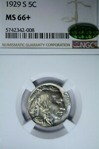 Click now to see the BUY IT NOW Price! 1929 S 5C NGC MS66  CAC