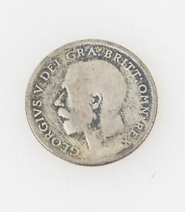 1921 SIXPENCE COLLECTIBLE COIN