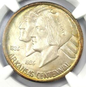 Click now to see the BUY IT NOW Price! 1936 S ARKANSAS HALF DOLLAR 50C   NGC  MS67  PQ CAC PLUS GRADE   $12 500 VALUE