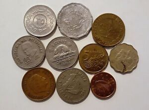 WORLD 10 DIFFERENT COINS LOT B
