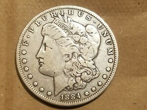Click now to see the BUY IT NOW Price! 1884 P MORGAN SILVER DOLLAR LIBERTY HEAD $1 COIN AMERICAN EAGLE NICE