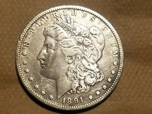 Click now to see the BUY IT NOW Price! 1891 O MORGAN SILVER DOLLAR LIBERTY HEAD $1 COIN AMERICAN EAGLE VF DETAILS