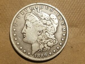Click now to see the BUY IT NOW Price! 1886 O MORGAN SILVER DOLLAR LIBERTY HEAD $1 COIN AMERICAN EAGLE FINE VF
