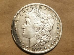 Click now to see the BUY IT NOW Price! 1891 O MORGAN SILVER DOLLAR LIBERTY HEAD $1 COIN EAGLE REVERSE FINE DETAILS