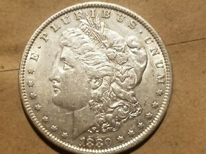 Click now to see the BUY IT NOW Price! 1880 O MORGAN SILVER DOLLAR LIBERTY HEAD $1 COIN ABOUT UNCIRCULATED AU NICE
