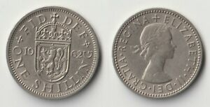1962 GREAT BRITAIN 1 SHILLING SCOTTISH VERSION