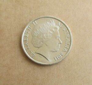 AUSTRALIAN 2011  10 CENT COIN .LOW MINTAGE KEY DATE