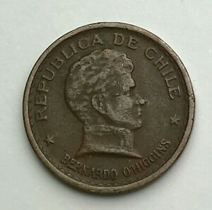 DATED : 1942   CHILE   20 CENTAVOS   20 CENTS COIN   SOUTH AMERICA