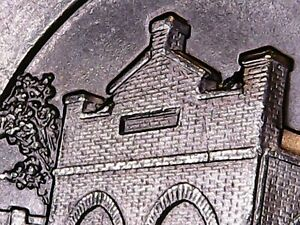 2016 P HARPERS FERRY ATB QUARTER 2 CATS ON A ROOF DIE CHIP MINT ERROR