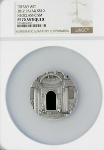 Click now to see the BUY IT NOW Price! 10$   PALAU 2010   TIFFANY ART   NEOCASSICISM   NGC PF70