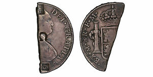 Click now to see the BUY IT NOW Price! GRENADA.  C. 1814  AR 6 BITTS  4S 6D . PCGS VF35