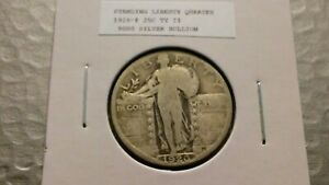 1926P 25C SILVER STANDING LIBERTY QUARTER 4201