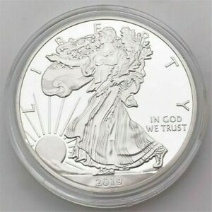 WALKING LADY LIBERTY COMMEMORATIVE COIN ONE DOLLAR COIN COLLECTIBLE