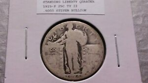 1925P 25C SILVER STANDING LIBERTY QUARTER 3689
