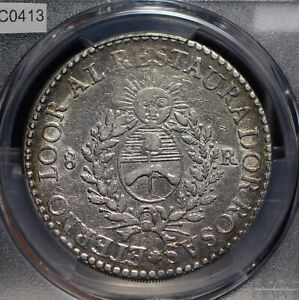 Click now to see the BUY IT NOW Price! ARGENTINA 1840 8 REALES PCGS XF  PC0413 COMBINE SHIPPING