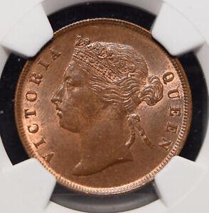 Click now to see the BUY IT NOW Price! STRAITS SETTLEMENTS 1895 CENT NGC MS 64 BN SUPER  GRADE NG0957 COMBINE SHIPP