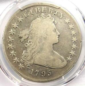 1795 DRAPED BUST SILVER DOLLAR  $1 COIN SMALL EAGLE    PCGS FINE DETAIL