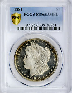Click now to see the BUY IT NOW Price! 1881 MORGAN S$1 PCGS MS 65 DMPL