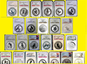 Click now to see the BUY IT NOW Price! 1991 2020 AUSTRALIA 26 OZ SILVER 26 COINS KOOKABURRA SET ALL PERFECT NGC MS 70