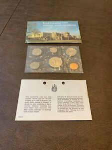 1987 CANADIAN COIN PROOF SET FROM THE ROYAL CANADIAN MINT FREE US SHIPPING