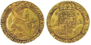Click now to see the BUY IT NOW Price! SCOTLAND. JAMES VI  I   1604 09  AV UNIT OR SCEPTER PIECE NGC AU55 KM 28; S 5463