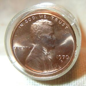 1970 D LINCOLN PENNY ROLL 50 COINS. SHINY TONE. FROM MY DAD'S COLLECTION