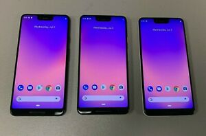 GOOGLE PIXEL 3 XL   64GB & 128GB   BLACK   WHITE   PINK  UNLOCKED  CHOOSE COLOR