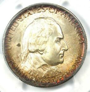 Click now to see the BUY IT NOW Price! 1927 VERMONT HALF DOLLAR 50C   CERTIFIED PCGS MS67    IN MS67   $3 200 VALUE