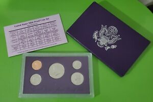 1993 S UNITED STATES MINT PROOF SET WITH COA AND BOX