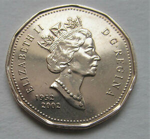 1952   2002 CANADA LOONIE   COMBINED SHIPPING