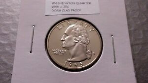1995S 25C CLAD PROOF WASHINGTON QUARTER 95692