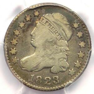 1823/2 CAPPED BUST DIME 10C  SMALL E'S    PCGS FINE DETAILS    COIN