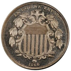 Click now to see the BUY IT NOW Price! 1866 5C RAYS SHIELD NICKEL PCGS PR66CAM CAC