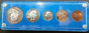 Click now to see the BUY IT NOW Price! 1954 UNITED STATES PROOF SET BU IN VINTAGE HOLDER  AA28