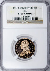 Click now to see the BUY IT NOW Price! 1831 CAPPED BUST 25C NGC PR 65