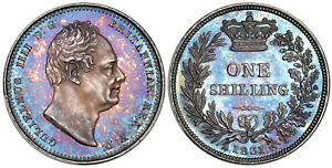 Click now to see the BUY IT NOW Price! GREAT BRITAIN. WILLIAM IV 1831 AR SHILLING. NGC PR65 KM 713; S 3835; ESC 2488.