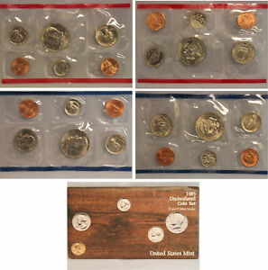 1985 US MINT SET  OGP  10 COINS