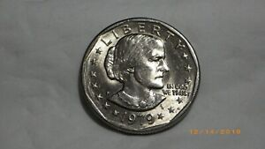1979 D SUSAN B. ANTHONY DOLLAR EXCELLENT CIRCULATED COIN W/MINT LUSTER