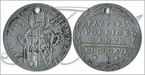 ITALY STATES   COINS CIRCULATION  YEAR: 1816   NUMBER KM01075 16   MBC GROSSO