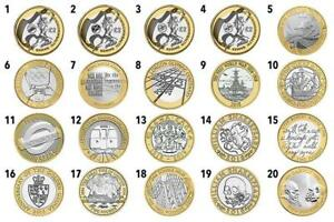 ALL BRITISH 2 POUND COINS   COMMONWEALTH GAMES OLYMPIC MARY ROSE KING JAMES