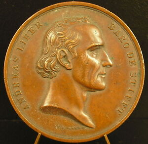 MDAILLE ANDREAS LIBER 1834 AUTRICHE OSTEREICH LAVREAM SEMISECULAREM BOEHM MEDAL