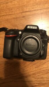 NIKON D7100 24.1MP DIGITAL SLR CAMERA BODY ONLY   BLACK  1513