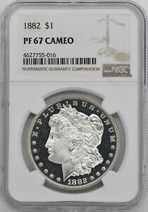 Click now to see the BUY IT NOW Price! 1882 MORGAN S$1 NGC PR 67 CAM