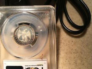 Click now to see the BUY IT NOW Price! PCGS 1876 TWENTY CENT PROOF 64 DCAM   POP 2