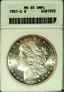 Click now to see the BUY IT NOW Price! 1901 O $1 MS65DMPL ANACS MORGAN DOLLAR