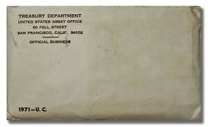 1971 U.S. MINT SET P&D IN ORIGINAL ENVELOPE