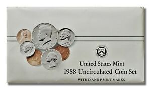 1988 U.S. MINT SET P&D IN ORIGINAL ENVELOPE