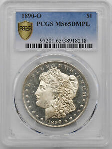 Click now to see the BUY IT NOW Price! 1890 O MORGAN S$1 PCGS MS 65 DMPL
